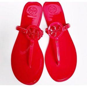 Tory Burch mini miller sandals.